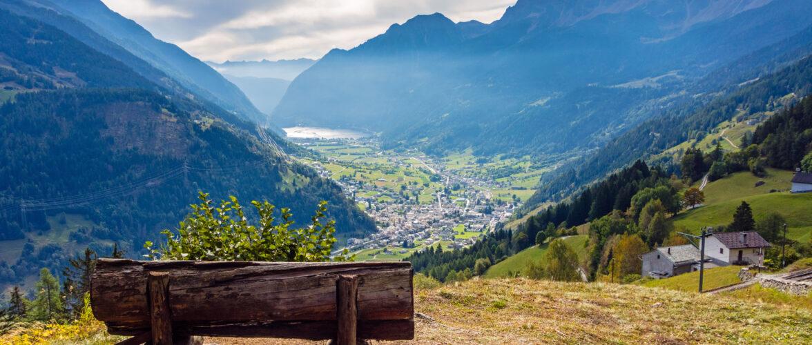 Ruhe geniessen auf der Carreise ins Graubünden