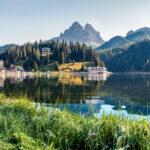Auch den Misurinasee besuchen wir auf unserer Carreise ins Südtirol.